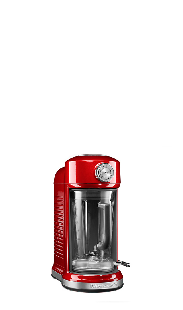 The die-cast metal construction ensures stability during blending. With a low profile design that fits easily underneath most kitchen cabinets, the Magnetic Drive Blender looks great in any kitchen.