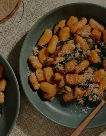 Sweet Potato Gnocchi With Brown Butter Honey Sauce